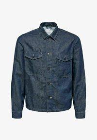 Selected Homme - Kurtka jeansowa - dark blue denim - 0