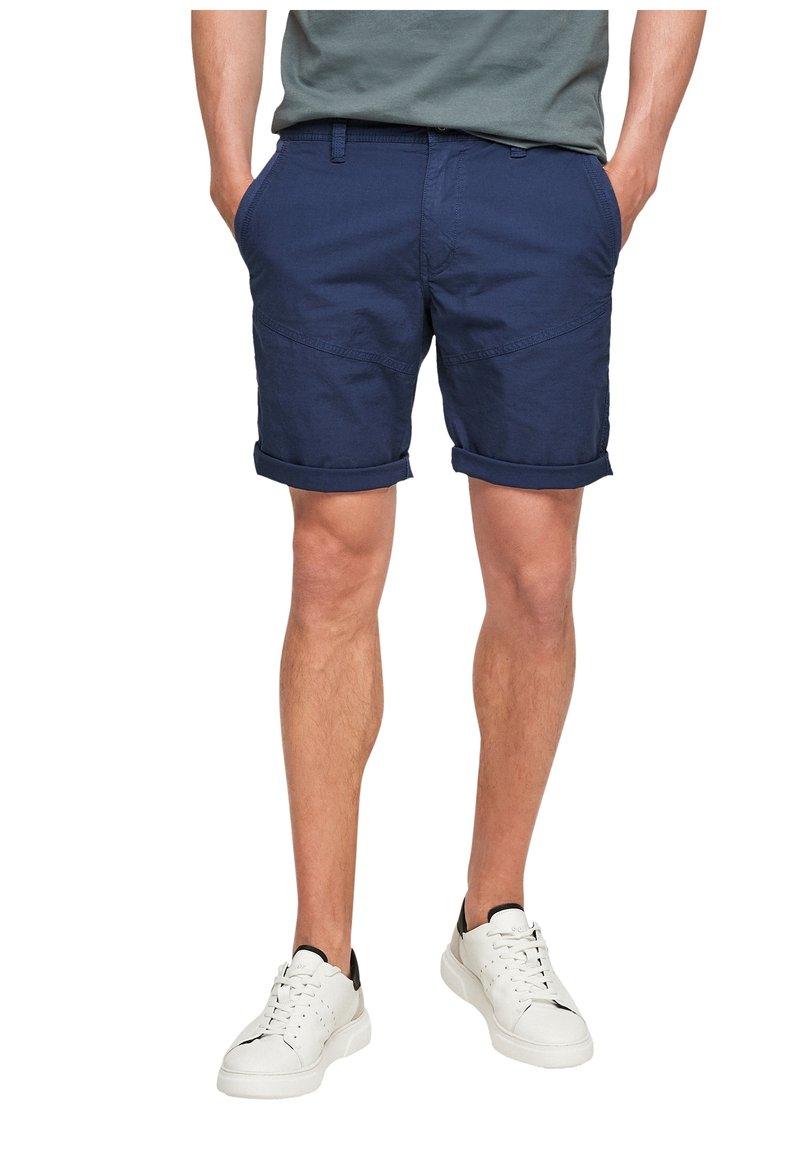 s.Oliver - BERMUDES - Shorts - blue