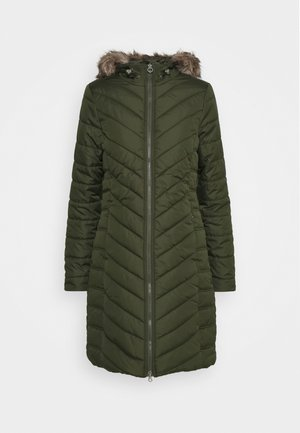 FRITHA - Wintermantel - dark khaki