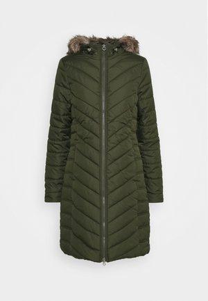 FRITHA - Zimní kabát - dark khaki
