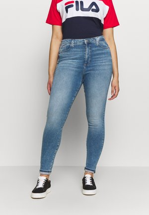 VMSOPHIA SKINNY JEANS - Skinny džíny - light blue denim