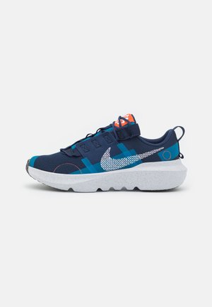 CRATER IMPACT UNISEX - Trainers - midnight navy/white/orange/imperial blue