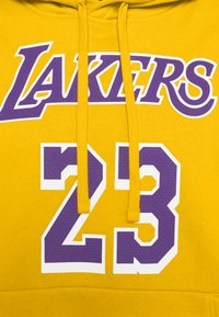 Nike Performance - NBA LOS ANGELES LAKERS LEBRON JAMES CITY EDITION ESSENTIAL - Club wear - amarillo/field purple - 6