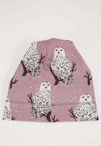 Walkiddy - BEANIE SNOW OWLS - Čepice - purple - 1