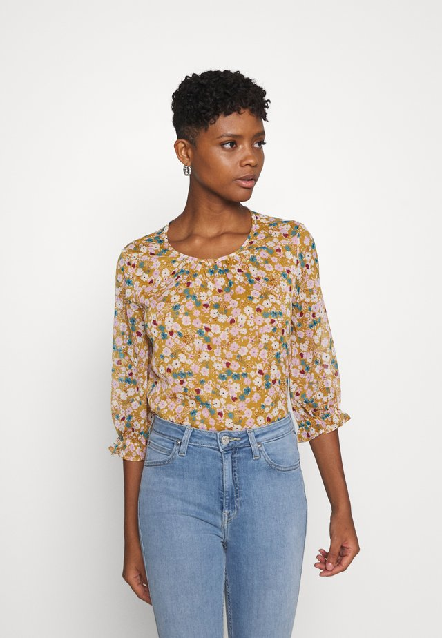 JDYPENELOPE - T-shirt à manches longues - cathay spice/soft multicolor