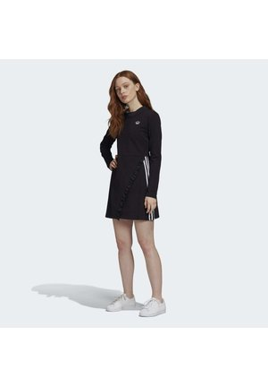 LONG SLEEVE DRESS - Vestido informal - black