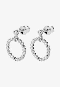 No More - CHAMPAGNE CIRCLE EARRINGS - Earrings - silver - 1