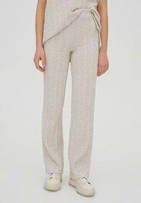 PULL&BEAR - Trousers - beige - 3