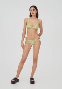 PULL&BEAR - Bikiniöverdel - evergreen - 1