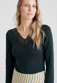 Anna Field - T-shirt à manches longues - scarab - 4