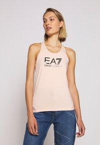 EA7 Emporio Armani - TANK - Topper - peach/black - 0