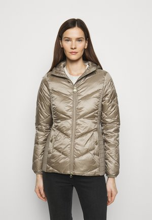 MILLER QUILT - Zimní bunda - soft gold