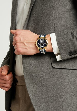 BARBES - Horloge - blue/gold-coloured