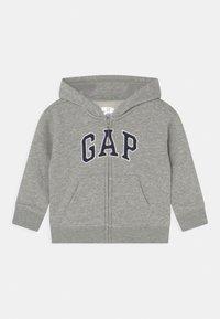GAP - ARCH HOOD UNISEX - Zip-up sweatshirt - light heather grey - 0