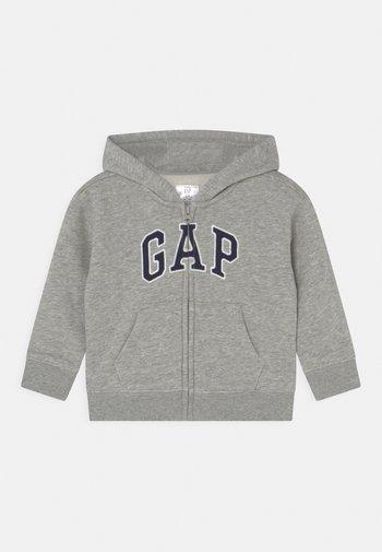 ARCH HOOD UNISEX - Zip-up sweatshirt - light heather grey