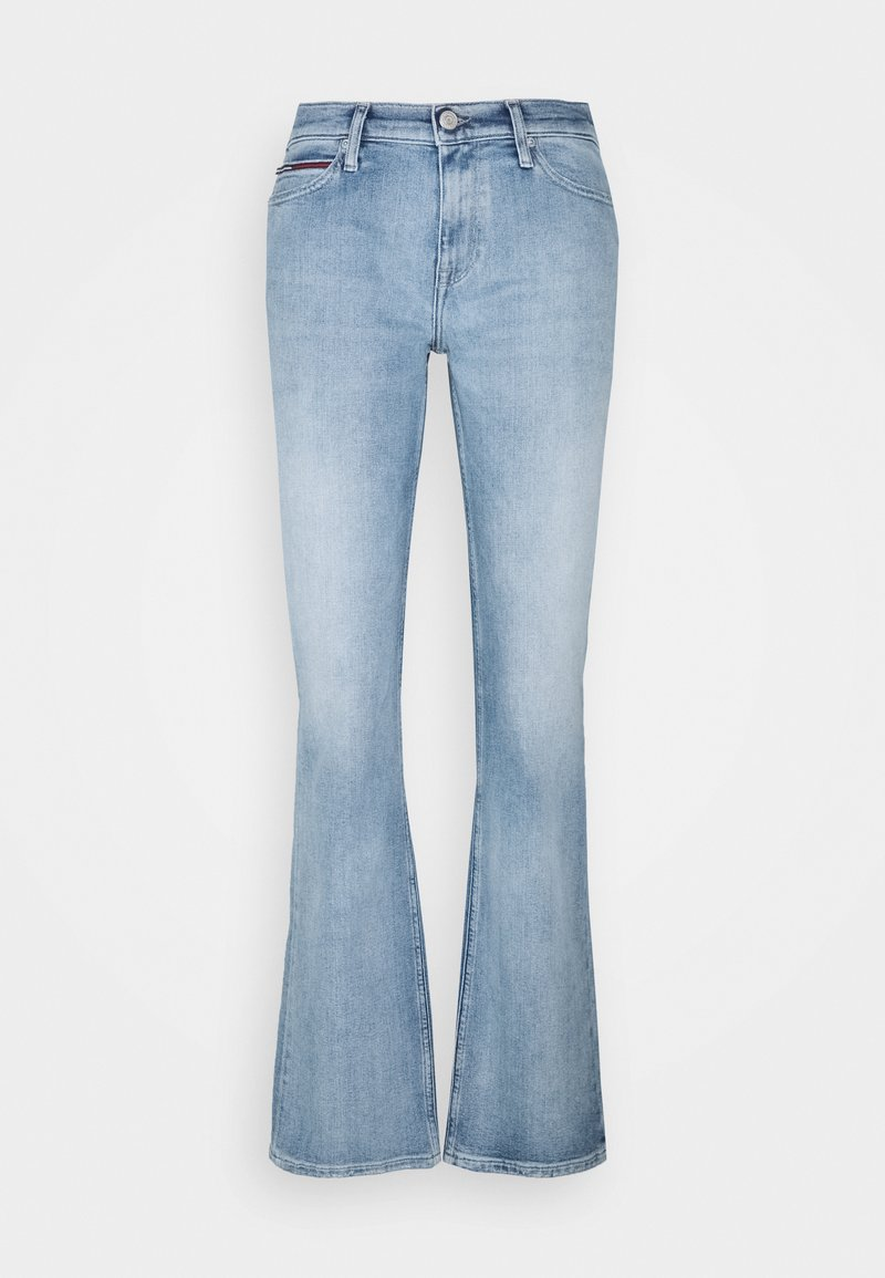 Tommy Jeans - MADDIE MR BOOTCUT  - Jeansy Bootcut - canal
