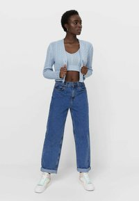 Stradivarius - Top - light blue - 1