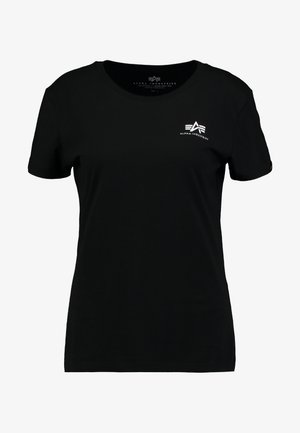 BASIC T SMALL LOGO - Basic T-shirt - black