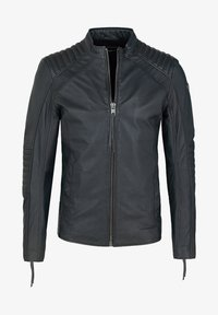 Tigha - Leather jacket - asphalt - 4