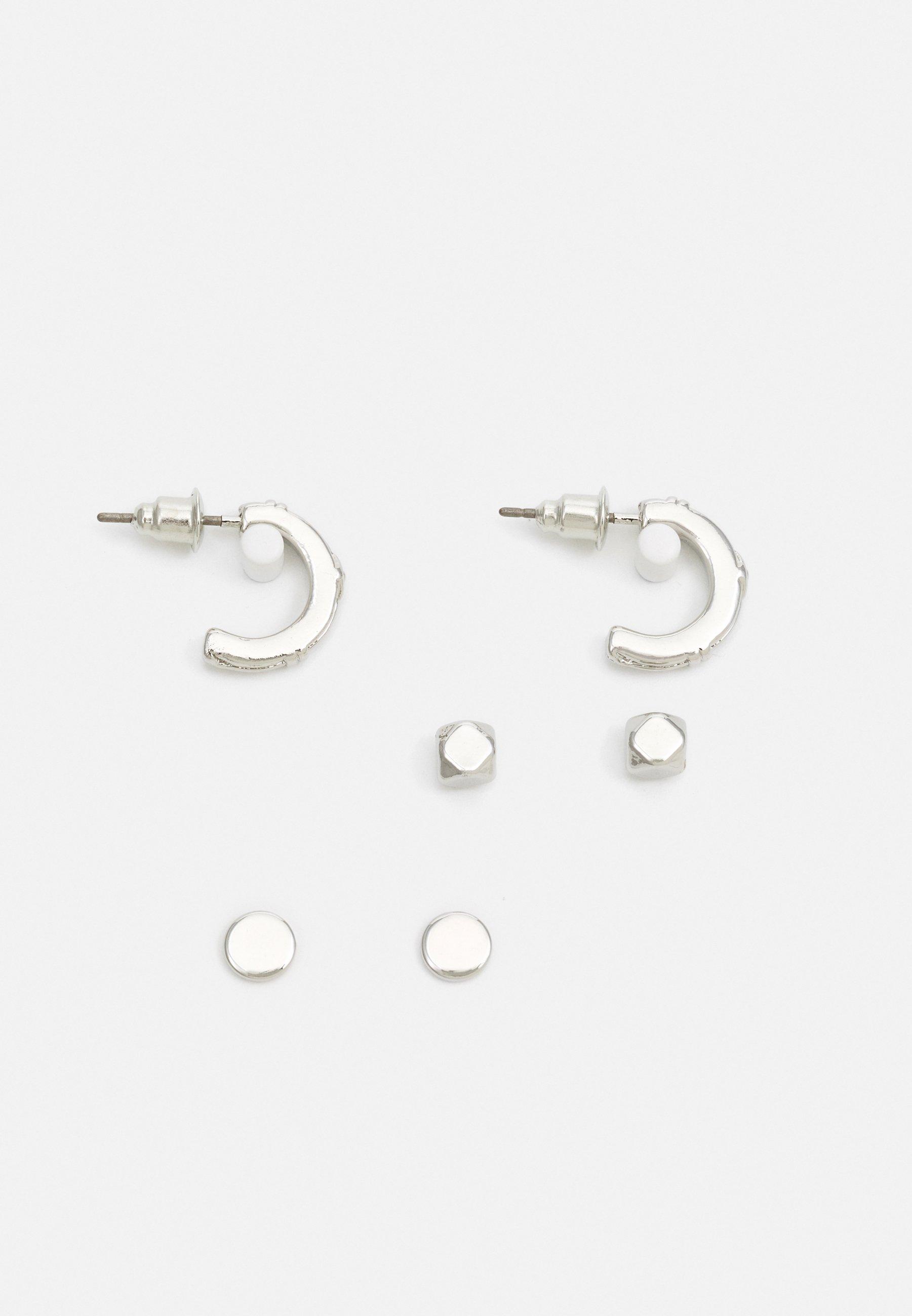 Men HOOP AND STUD 3 PACK - Earrings