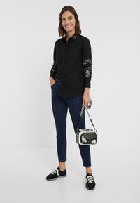 Desigual - CHIARA - Button-down blouse - black - 1