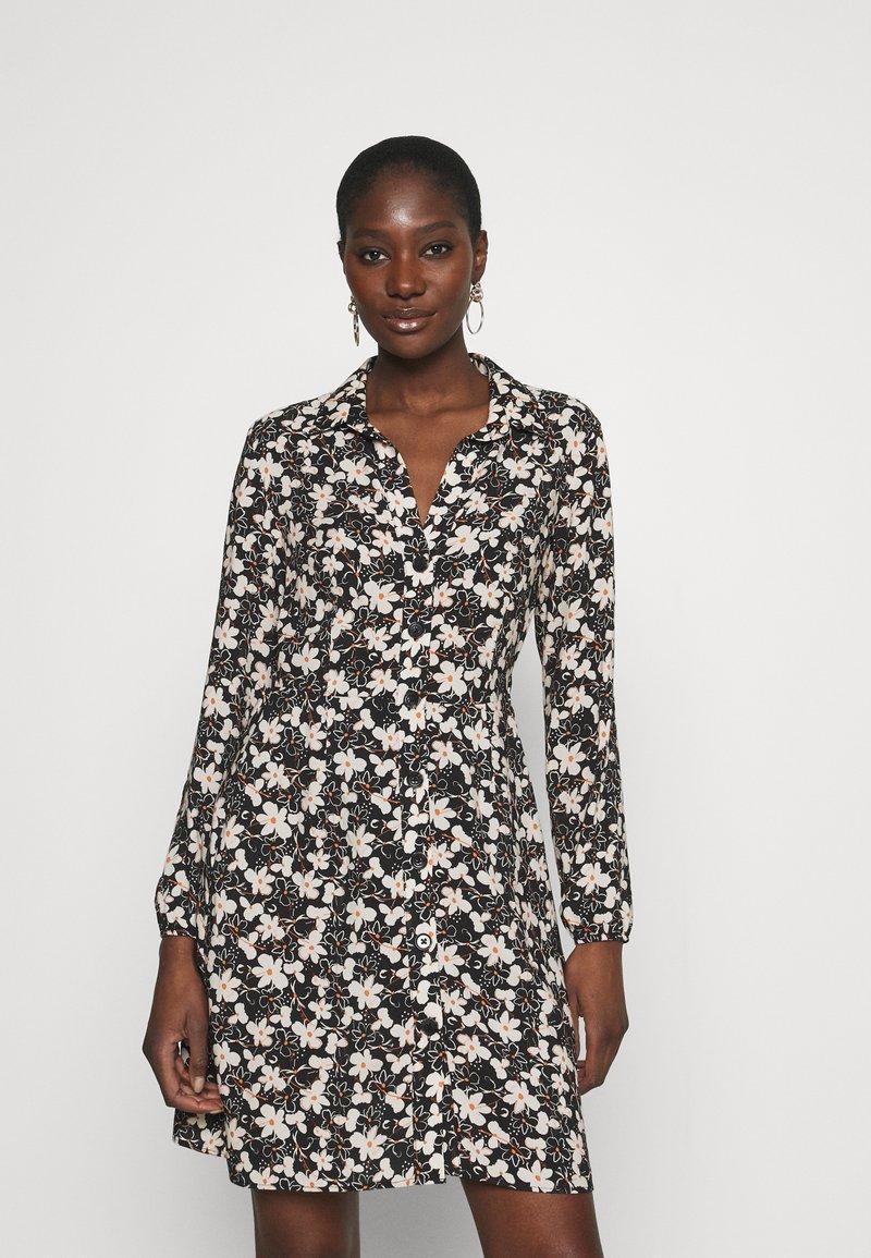 Mavi - LONG SLEEVE DRESS - Sukienka koszulowa - black
