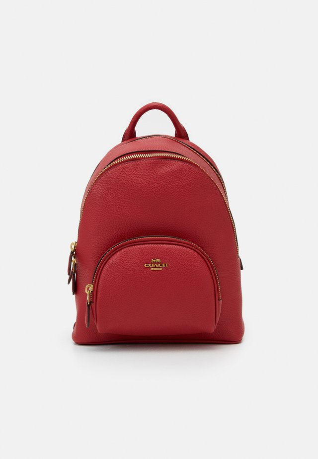 POLISHED PEBBLE CARRIE BACKPACK - Ryggsekk - red apple