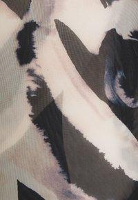 ONLY - ONLRHONWEN - Topper langermet - black/white graphic - 2