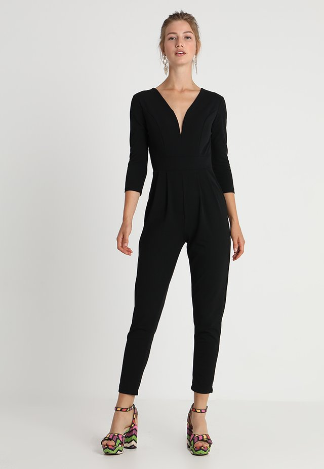 LONG SLEEVE - Overall / Jumpsuit - black