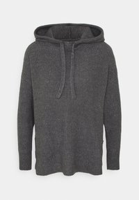 ONLY - ONLKAY HOOD - Hoodie - medium grey melange - 4
