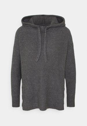 ONLKAY HOOD - Hoodie - medium grey melange