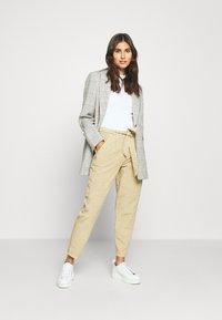 Opus - MAYLA - Trousers - natural beige - 1