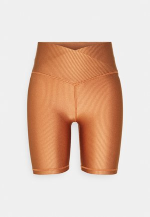 SHINE BIKE  - Shorts - amber brown