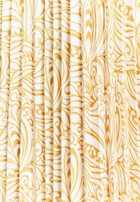 Re.draft - PLISSÉE SKIRT - A-lijn rok - dark yellow - 2