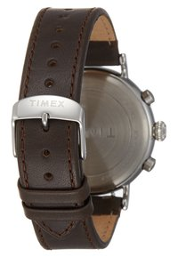Timex - STANDARD CHRONOGRAPH 41 mm - Chronograph watch - silver-coloured/brown - 2
