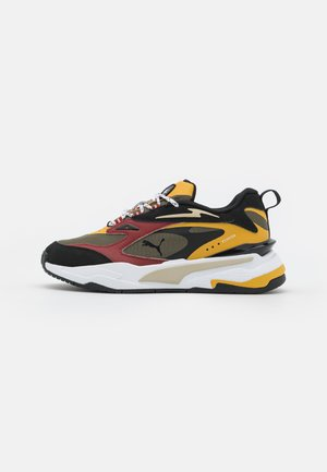 RS-FAST T4C JR UNISEX - Trainers - grape leaf/mineral yellow