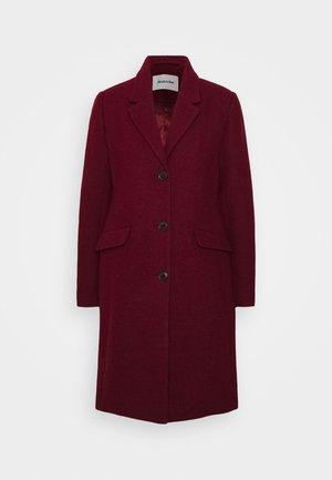 PAMELA COAT - Klasický kabát - maroon
