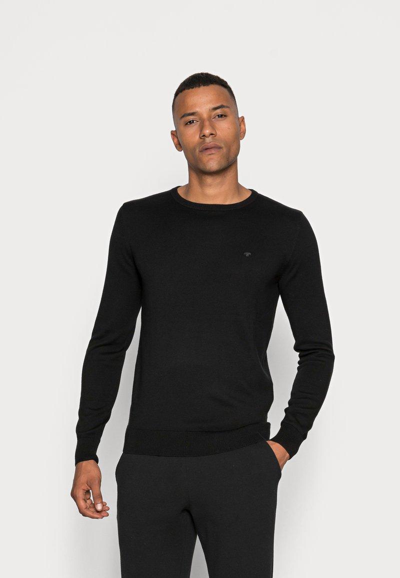 TOM TAILOR - Sweter - black