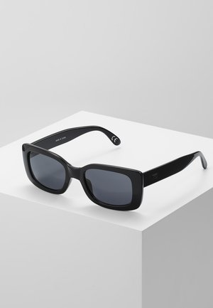 MN KEECH SHADES - Solglasögon - black/dark smoke
