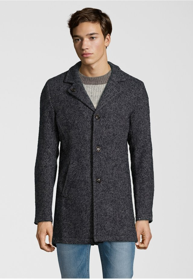 Classic coat - dark navy