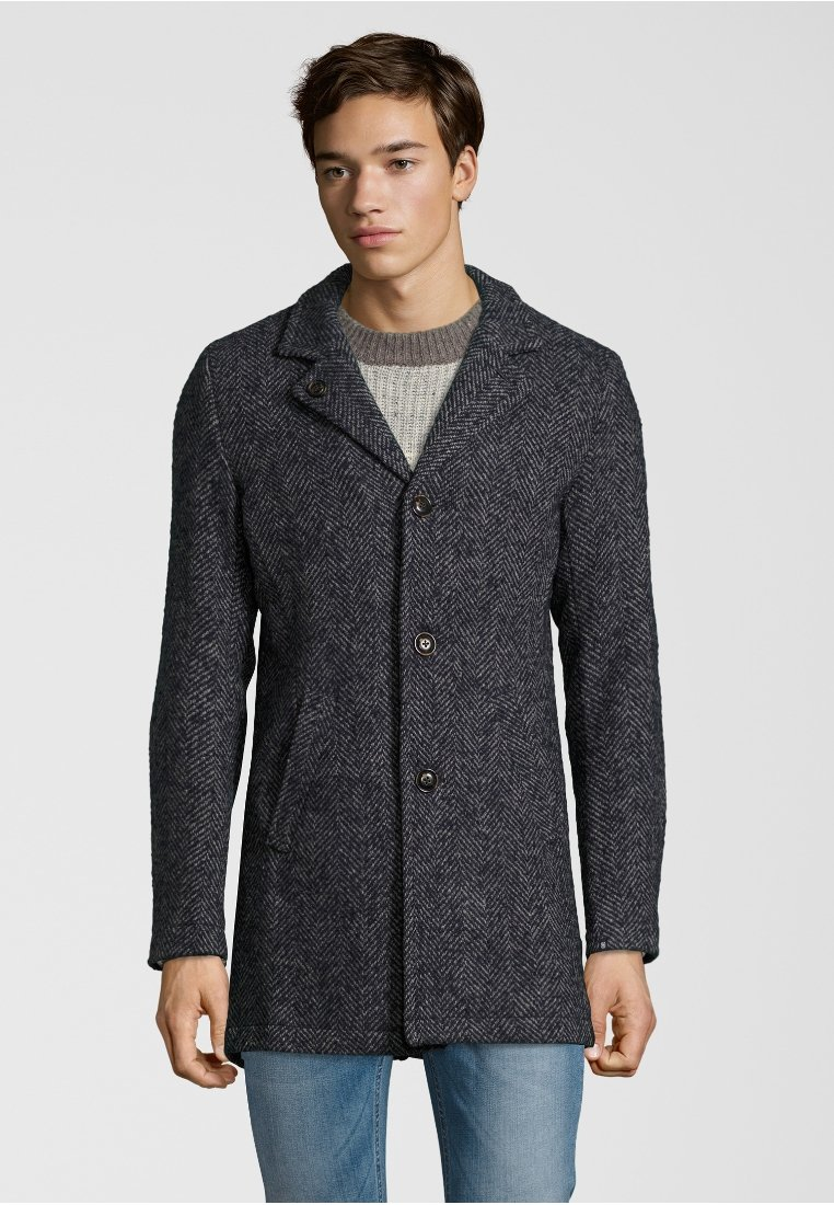 Dstrezzed - Classic coat - dark navy