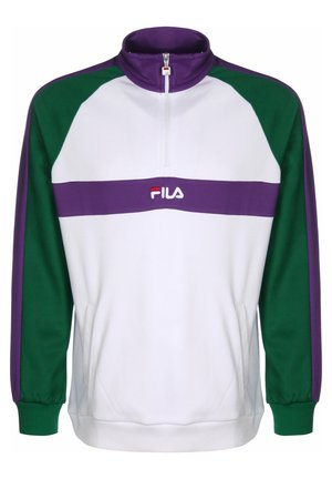 SWEATER BAYOU HALF-ZIP - Sweatshirt - sh glade/br white/till purpl