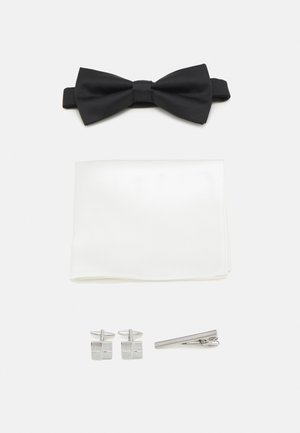 FLIEGE SET - Pocket square - black