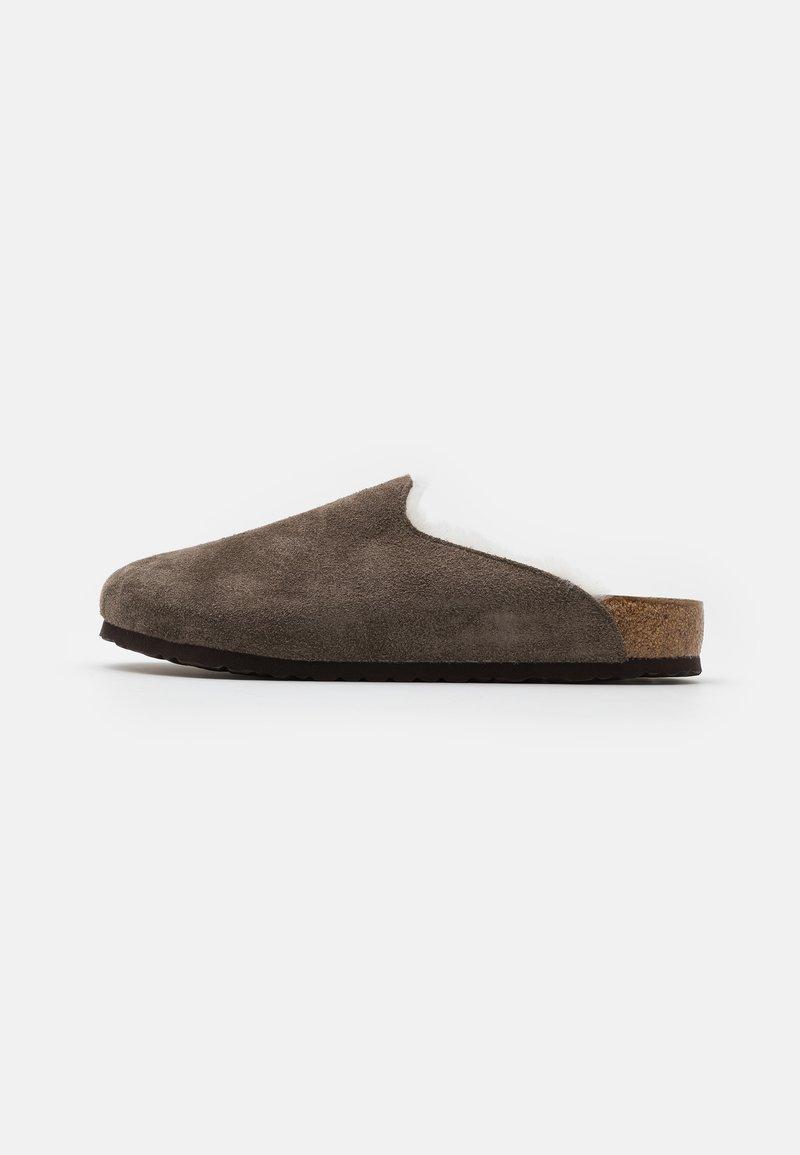 Birkenstock - AMSTERDAM PREMIUM UNISEX - Slippers - concrete gray