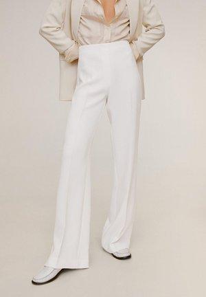 PALACHIN - Spodnie materiałowe - ecru