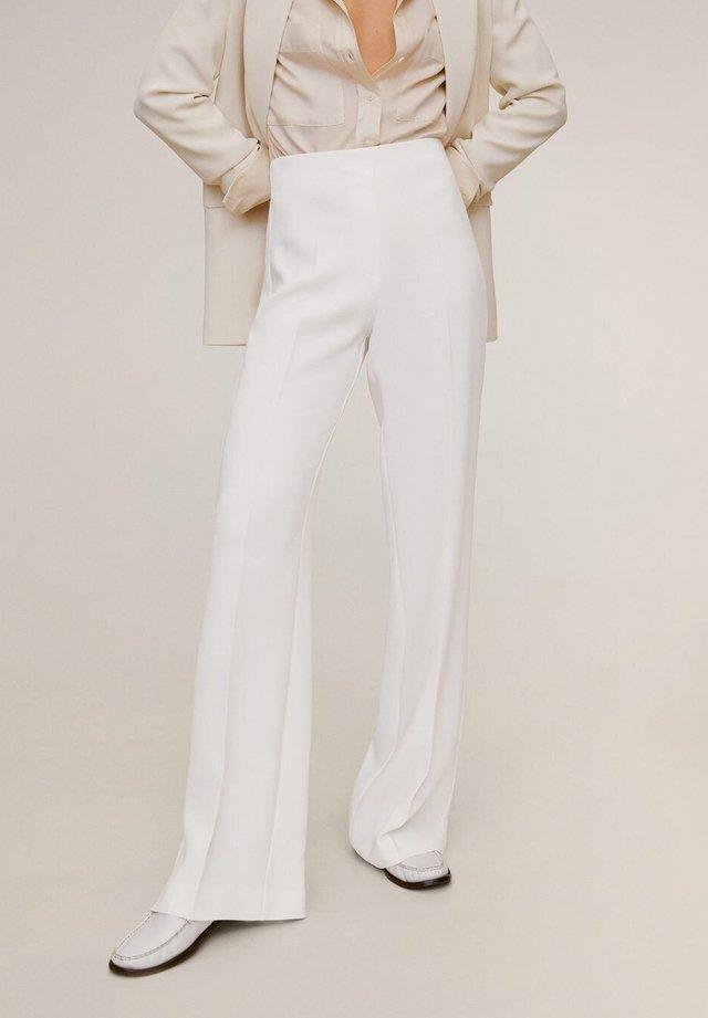 PALACHIN - Pantalon classique - ecru