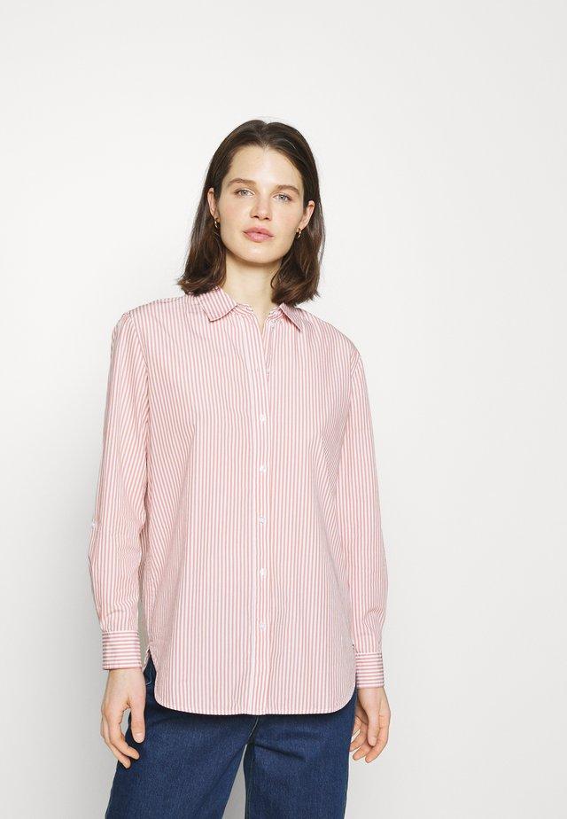 Button-down blouse - blush