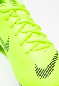 Nike Performance - MERCURIAL VAPOR 12 ACADEMY MG - Moulded stud football boots - volt/black - 2