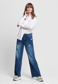 ONLY - Button-down blouse - white - 1