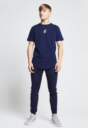 MARBLE RACER  - Printtipaita - navy marble